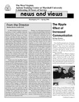 News and Views, Spring 2004 by West Virginia Autism Training Center