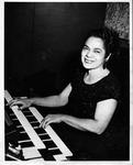 Revella Hughes at piano
