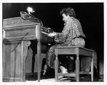 Revella Hughes performing