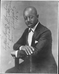 Autographed picture to Revella Hughes from Eubie Blake