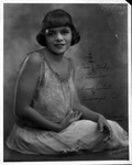 Autographed photo to Revella Hughes from friend nicknamed