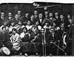 Revella Hughes in orchestra