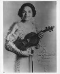 Revella Hughes autographed photo