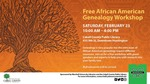 African American Genealogy Workshop Poster by Kelli Johnson