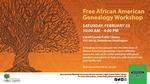 African American Genealogy Workshop Poster