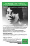 Huntington Civil Rights Oral History by Kelli Johnson