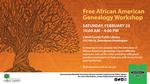 African American Genealogy Workshop Poster by Kelli Johnson