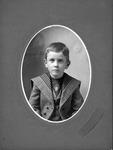 Norman Cyril Noble, brother to Alma nease Noble, ca. 1900 by A. G. Gilmour