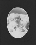 First photo of Alma Nease Noble, ca. 1901 by J. D. Haning