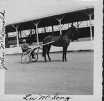 John McDonald and horse Lu McSong,