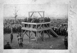 Last legal execution in Cabell County,W.Va., Nov. 22, 1892