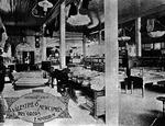 Interior view of Valentine & Newcomb store, Huntington, W.Va.