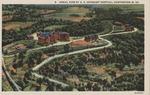 Aerial view of Veteran's Hospital, Huntington, W.Va.