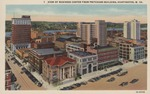 View of business center from Prichard Bldg., Huntington, W.Va.