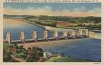 Gallipolis locks and dam on Ohio River