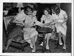 Group of Florida women meet to plan Tropical Milk Fund Ball, 1938