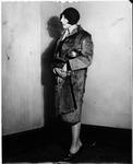 Ann Cutler when a young reporter, ca. 1930