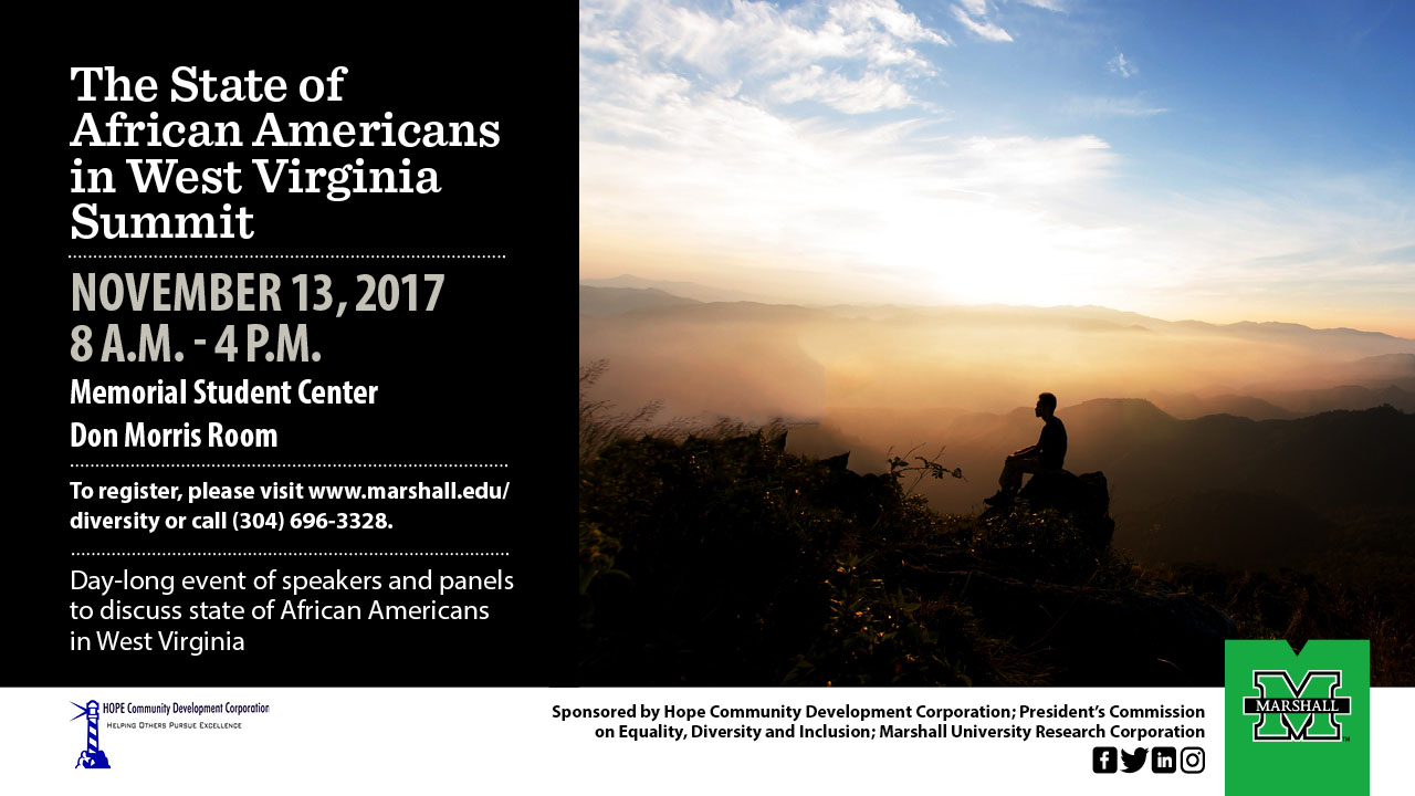 The State of African Americans in West Virginia Summit