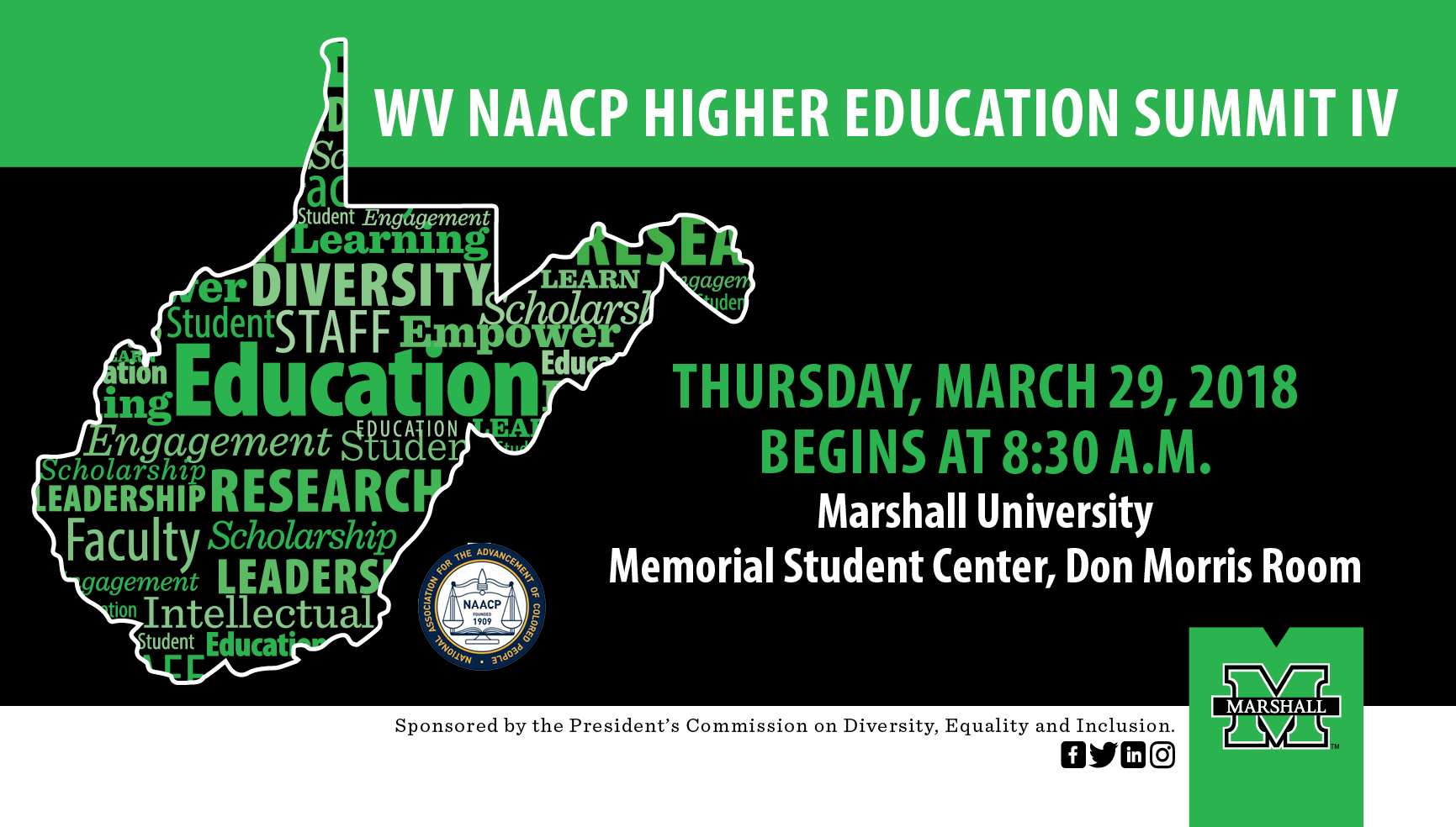 WV NAACP Higher Education Summit IV