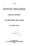 Baptist Preacher by Henry Keeling