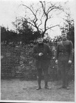 Benson J. Lubin and unidentified soldier, US Army , WWI