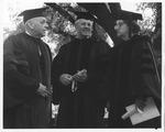 Rosanna Blake, WV Gov. Hulett Smith, MU Pres Stewart Smith-1965