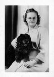 Rosanna Blake and her dog