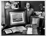 Rosanna Blake with part of her collection, Sept. 1958
