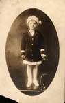 Rosanna Blake as a child, ca. 1918