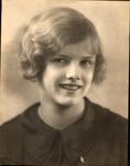 Studio portrait of Rosanna Blake, ca. 1930