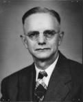 Studio portrait of Merrill Clifford Blake, Rosanna Blake's father