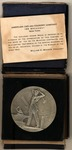WWI honor medal awarded by ACF (American Car & Foundry) for work on munitions contract, boxed, medal dated 1917-1918, made by Gorham Co. of NY.