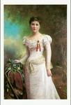Photo of portrait of Winnie Davis, daughter of CSA Pres. Jefferson Davis