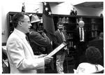 Dedication of the Rosannaa Blake Collection, Marshall University, 1987