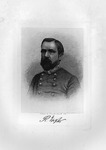 Etching of Confederate Gen. Richard Taylor, ca. 1890