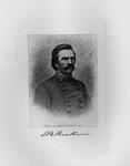 Etching of Confederate Gen. Simon Bolivar Buckner, ca. 1890