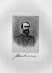 Etching of Confederate Gen. James Patton Anderson, ca. 1890