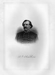 Etching of Confederate Gen. Benjamin F. Cheatham, ca. 1890