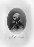 Etching of Confederate Gen. Jeremy F. Gilmer, ca. 1890