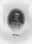 Etching of Confederate Gen. Benjamin Huger, ca. 1890