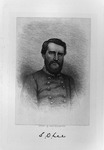 Etching of Confederate Gen. Stephen Dill Lee, ca. 1890