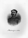 Etching of Confederate Gen. John Bankhead Magruder, ca. 1890