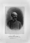 Etching of Confederate Gen. Matthew W. Ransom, ca. 1890