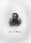 Etching of Confederate Gen. Alexander P. Stewart, ca. 1890