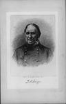 Etching of Confederate Gen. David Emanuel Twiggs, ca. 1890