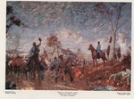 Thomas J. (Stonewall) Jackson viewing his foot cavalry,