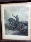 Lithograph of Stonewall Jackson at First Battle of Winchester Lithograph of Battle Near Mill Springs, Ky., and Death of Gen. Zollicoffer, 1862