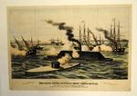 The First Battle Between Iron Ships of War