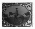 Print of Robert E. lee on his horse Traveler