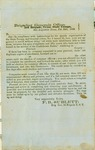 Two General Orders from the Brigadier General's Office, 3rd Texas Brigade, Texas State Troops, 1862, signed by F. B. [Franklin Bolivar] Sublett, Brig Gen.